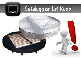 lit rond luxembourg en catalogue